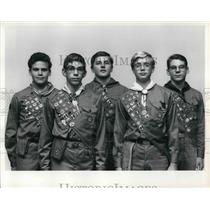 1969 Press Photo New Eagle Scouts to be honored at Troop 322 Court of Honor