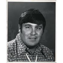 1971 Press Photo John Fletcher, Blackfoot Indian - cva14545