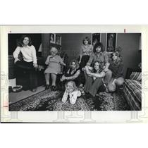 1979 Press Photo Klafczynski family - cva24263