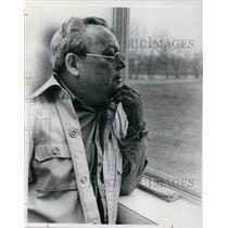 1977 Press Photo Lt. Gov. Wally Pehrrson Penobscot Indians - cva19405