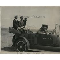 1928 Press Photo Fliers at Bolling Field after their arrival in D.C. from NY