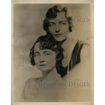 1929 Press Photo Louise MacPherson & Claire Ross Piano Recitalists in NBC