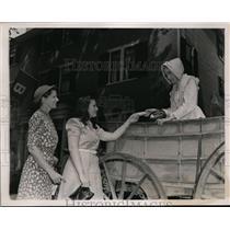 1939 Press Photo Chestnut Street Day in Salem Massachusetts  - ney05873