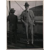 1926 Press Photo Attorney John S Partridge Western Pacific - ney05710