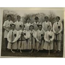 1926 Press Photo May Adams, Tyson, Corning, Mrs. Boehm, Marshall and Hopkins