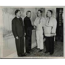 1937 Press Photo Members Of The Federated Russian Orthodox Clubs - nee91979
