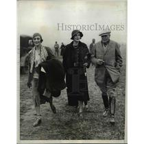 1931 Press Photo Mrs C.D Sabin, Mrs.Gerald Recmons at Peidmont Fox Hounds Meet