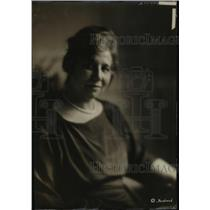 1920 Press Photo Mrs Thomas LeBreton wife of Ambassador from Argentina