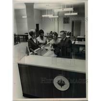 1966 Press Photo Rita Harsa Mary Whittaker Ray Trimm and Donna Siwik