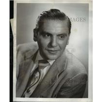 1950 Press Photo Bob Hawk returns to the air on The Bob Hawk Show on CBS