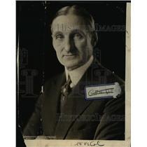 1923 Press Photo William Gibbs McAdoo - nee92745