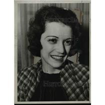 1934 Press Photo Actress Marion LaFollette will not enter politics - nee93162