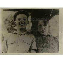 1930 Press Photo Endurance Champions Truman Kirkpatrick and Jack Harris