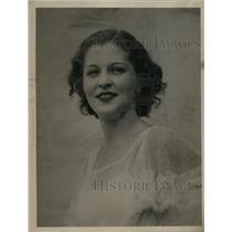 1934 Press Photo Billie Stephanie - ned56688