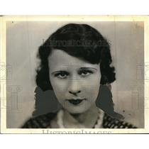 """1933 Press Photo Dorothy Lord of play, """"Miss Cohen"""" - ned34853"""