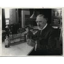 1932 Press Photo Dr Charles Norris Medical Examiner New York City