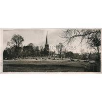 1928 Press Photo Harrow Urban District Under New Town Planning Scheme