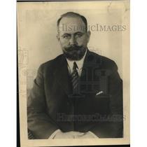 1921 Press Photo Luis Pedro Agurre Minister of Foreign Affairs of Guatemala