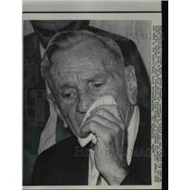 1965 Press Photo Casey Stengel  retires as NY Mets manager - net05524