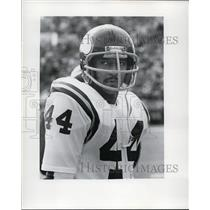 1976 Press Photo Chuck Foreman on Minnesota Vikings - net05844