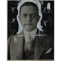 1927 Press Photo O. J. Fishel - cvb58328