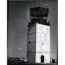 1973 Press Photo Tri-City Paseo Airport Tower - spa22219