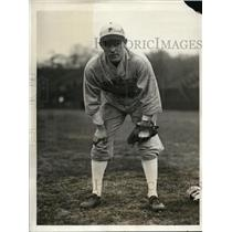 1931 Press Photo Weatherly Reinmund Princeton University left fielder