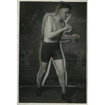 1921 Press Photo amateur boxer Andy Moran - net01016