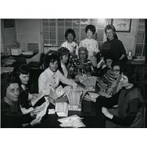 1972 Press Photo Spokane Area Women Pilots at Felts Field - spa21779