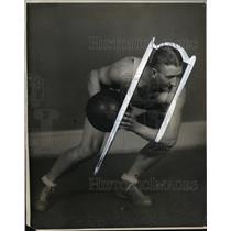 1930 Press Photo Melvin C Cotton Whitlock Oregon State College basketball