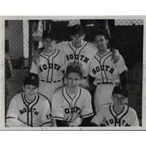 1951 Press Photo South High Pitchers 1951 - cvb58453