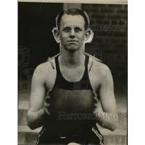 1929 Press Photo Larry Haar North Carolina State basketball player - net02008
