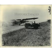 1942 Press Photo Aero - private airplanes, Grasshoppers - mja01688