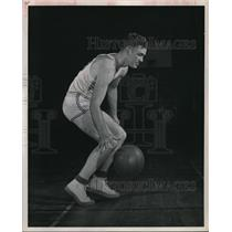 1948 Press Photo Bradley Tech basketball player Humerickhous - net02654