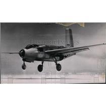 1946 Press Photo Douglas-made XB-43 during a test take off at Muroc, Calif.