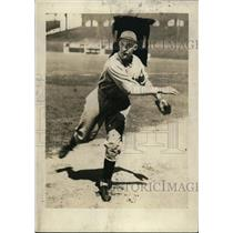 1930 Press Photo Detroit Tigers pitcher Charles Sullivan - net02319