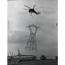 1973 Press Photo Helicopter - spa22179