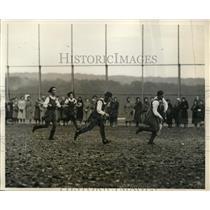 1931 Press Photo All Scottish girls field hockey vs All New York team