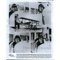 1991 Press Photo American Pilots Lt Lowell Smith, Lt Erik Nelson, Lt Leigh Wade