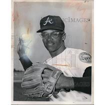 Press Photo Houston Astros infielder Sonny Jackson - net02563