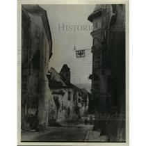 1928 Press Photo Durenstein, where Richard the Lion Hearted was kept prisoner
