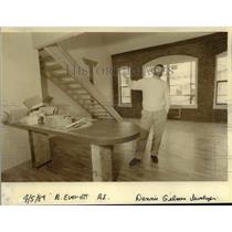 1989 Press Photo Dennis Gilman president of East Bank Community Development Co