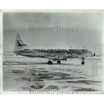 1967 Press Photo North Central commercial plane  - mja01511