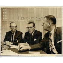 1963 Press Photo Officials of International Typographical Union Conference