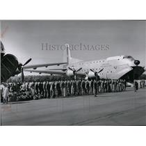 1956 Press Photo Aviation Transport - spa22037