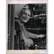 1952 Press Photo Glenn L Martin, aviator, pioneer and founder of Lockheed Martin