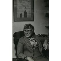 1981 Press Photo Kathryn Bernmann, Waukesha psychiatrist - mja07044