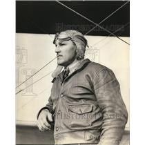Press Photo Garland Lincoln Learned To Fly In 1912 - ora56871