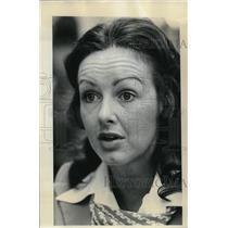 1974 Press Photo Nondice McFall,, Western Airlines Stewardess - ora55475