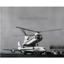 1960 Press Photo Cargo Transport airplanes - spa22038